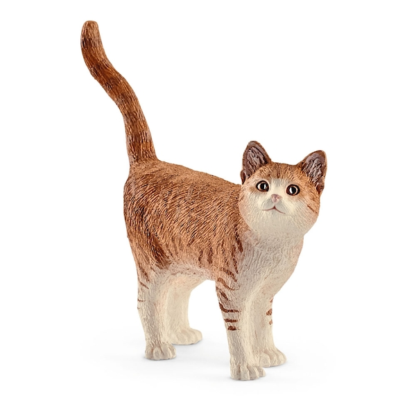 Schleich Farm World Cat Figure