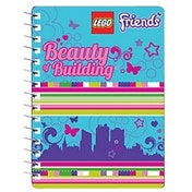 Lego Friends Mini Journal, Beauty and Building - LE6553A