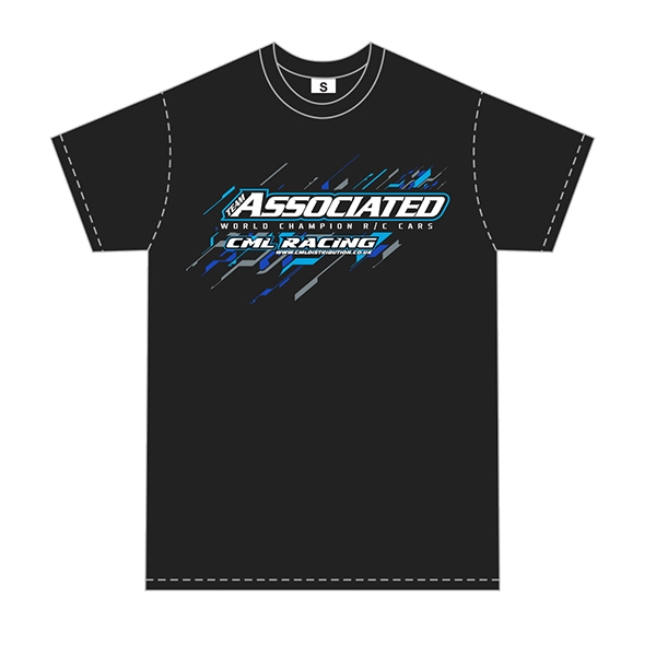 Associated Ae/Cml T-Shirt Black (Large)