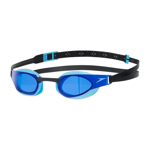 Speedo Fastskin Elite Goggles Black/Aqua/Blue Adult