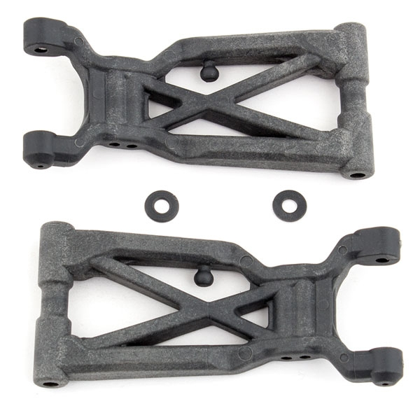 TEAM ASSOCIATED B64 REAR ARMS, HARD