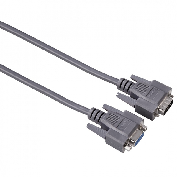 Hama VGA Extension Cable, shielded, 1.80 m