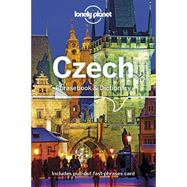 Lonely Planet Czech Phrasebook & Dictionary  Paperback / softback 2019