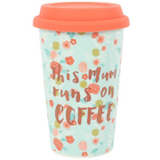 This Mum Runs on Coffee Travel Mug