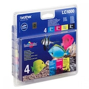 Brother LC-1000VALBP Ink cartridge multi pack, 500pg   3x400pg, Pack qty 4