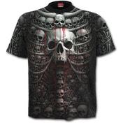 Death RibAllover Men's Medium T-Shirt - Black