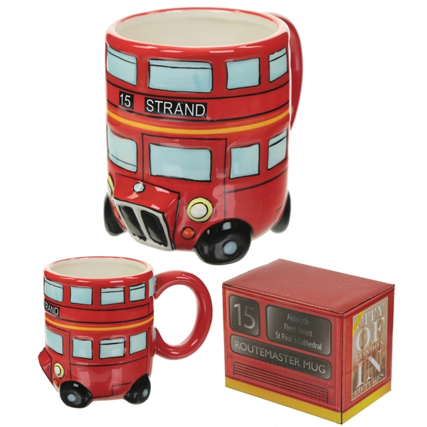 Routemaster Red Bus Mug