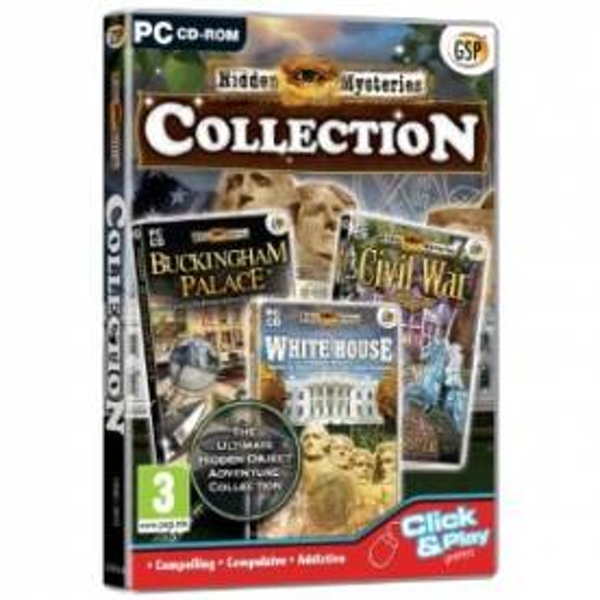 Hidden Mysteries Collection Triple Pack Game PC