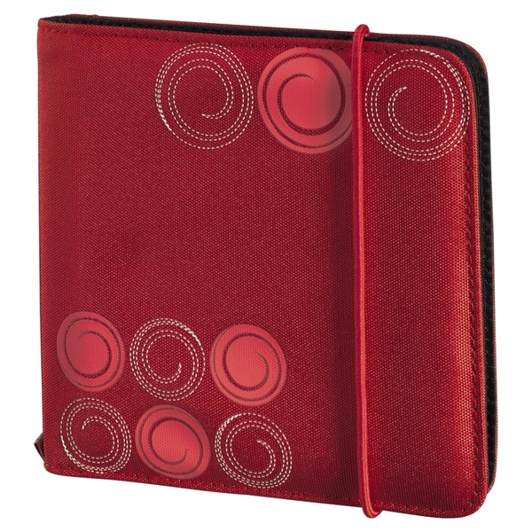 Up to Fashion CD/DVD/Blu-ray Wallet 24 Red