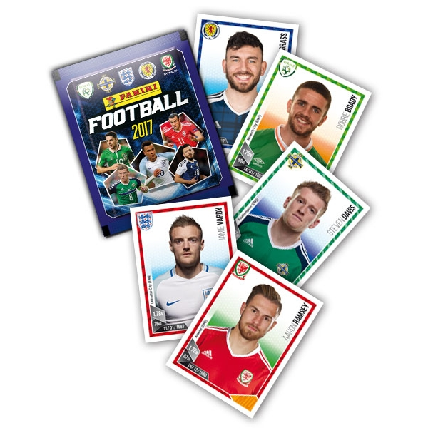 Panini Football 2017 Sticker Collection (50 Packs)