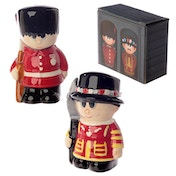 Beefeater and Guardsman Salt and Pepper Set