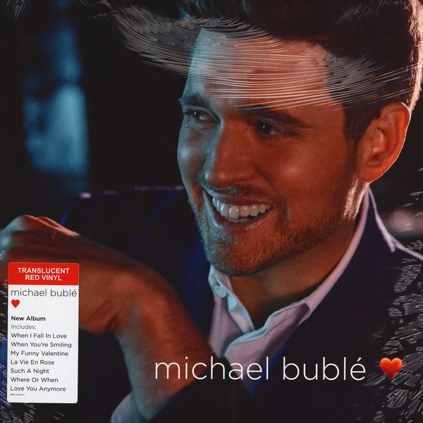 Michael Bublé ‎– Love Red Vinyl