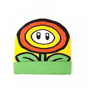 Nintendo Super Mario Bros. Sunflower Cuffed Beanie