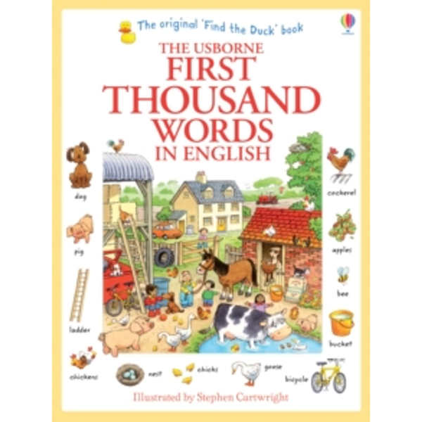 First Thousand Words in English by Heather Amery (Paperback, 2013)