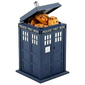 Doctor Who Tardis Lights and Sounds Cookie Jar