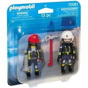 Playmobil Rescue Firefighters Due Pack Figures