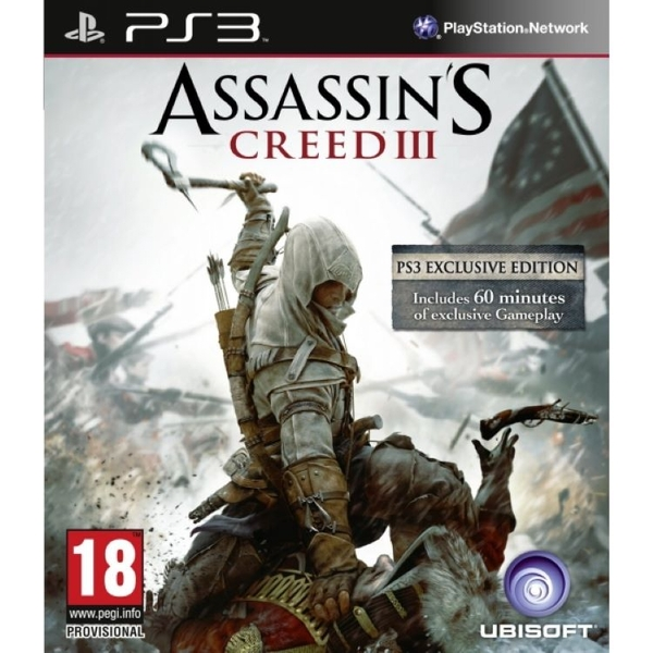 Assassin's Creed III 3 PS3 Game