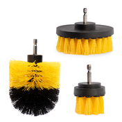 Drill Brush Attachment Heads - Set of 3 | Pukkr