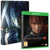 Dead or Alive 6 Xbox One Game + Steelbook