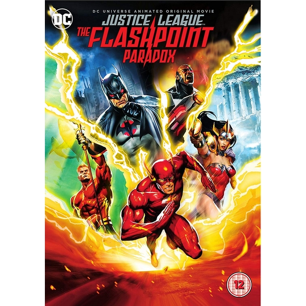 Justice League: The Flashpoint Paradox DVD