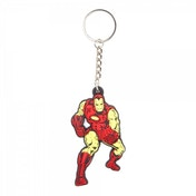 Marvel Comics Iron Man Unisex Fighting Pose Rubber Keychain
