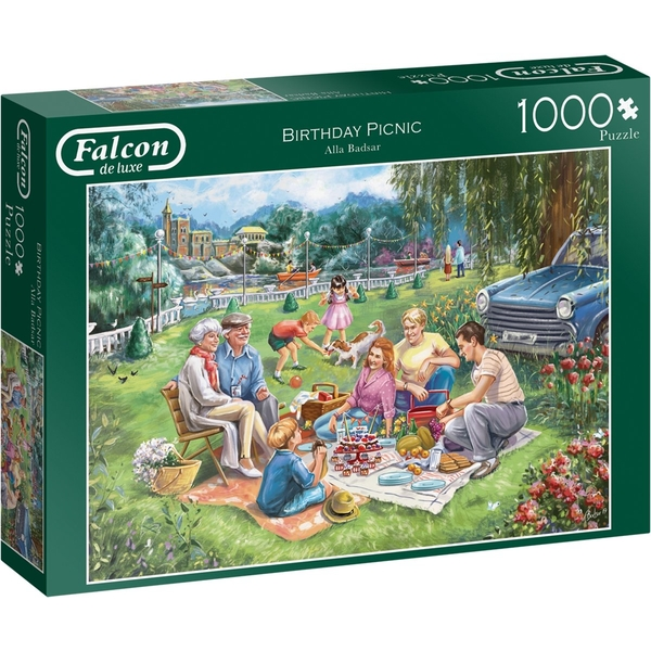Falcon The Boating Lake  Jigsaw Puzzle - 1000 Pieces