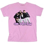 One Direction Train Bundle 2 Skinny Pink TS: Large