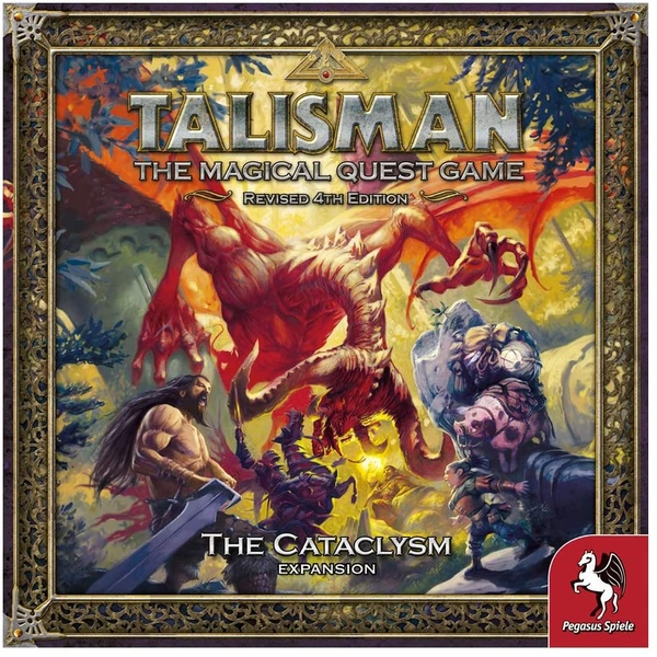 Talisman: The Cataclysm Expansion Board Game