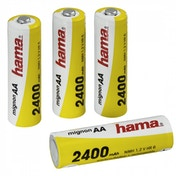 Hama Ready4Power NiMH Rechargeable Batteries 4x AA (Mignon - HR 6) 2400 mAh