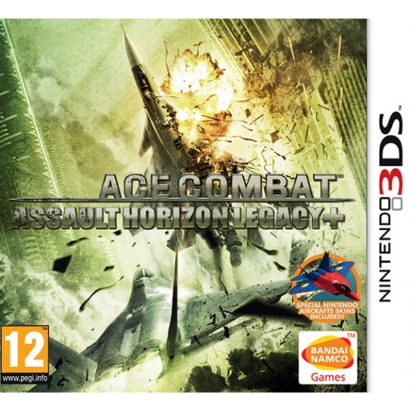 Ace Combat Assault Horizon Legacy Plus 3DS Game