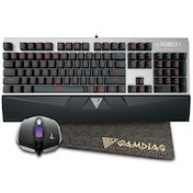 Gamdias ARES 7 COLOUR Gaming Desktop Kit 7 Colour Backlight - UK Layout