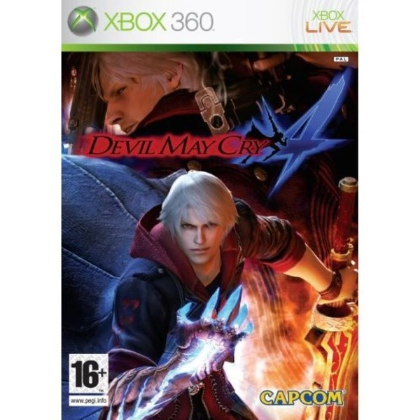 Devil May Cry 4 Game Xbox 360 [Used]