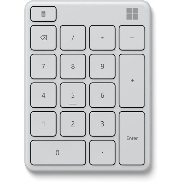 Bluetooth Number Pad - White