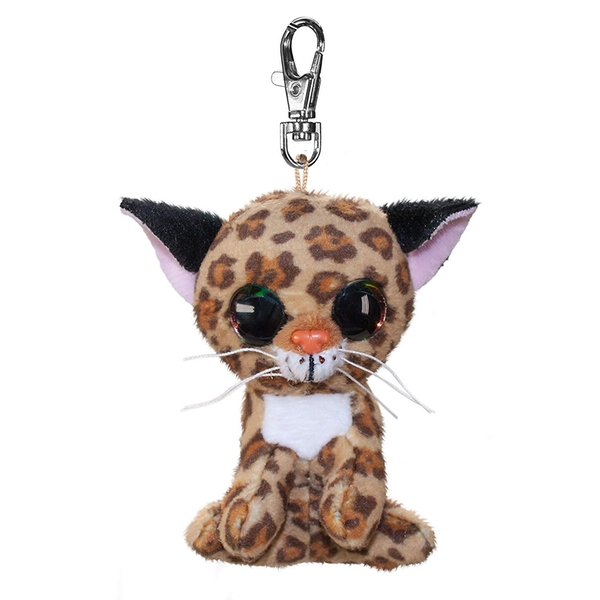 Lumo Stars Mini Keyring - Lynx Lynx Plush Toy
