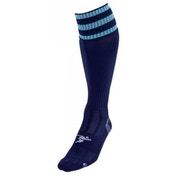 PT 3 Stripe Pro Football Socks Mens Navy/Sky