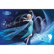 Frozen (snow Queen French) Maxi Poster