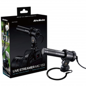 AVerMedia AM133 Professional Live Streamer Microphone for PC/Mac/Digital SLR