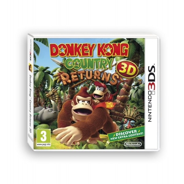Donkey Kong Country Returns 3D Game 3DS