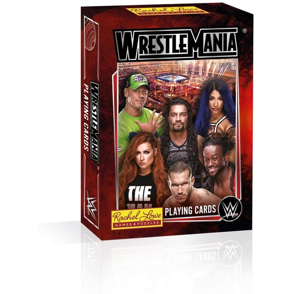 WWE Wrestlemania Playing Cards - Image 1