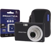 PRAKTICA Luxmedia Z250 Black Camera Kit inc 8GB SDHC Class 10 Card & Case