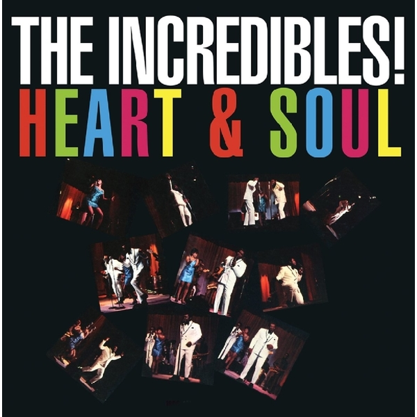 Incredibles - Heart & Soul Vinyl