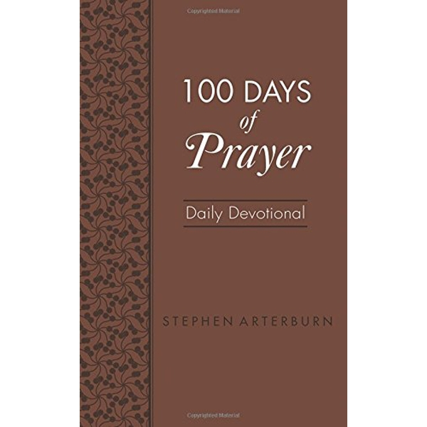 100 Days of Prayer Daily Devotional  Leather / fine binding 2018