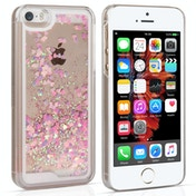 YouSave Accessories iPhone 5 / 5s / SE Quicksand Scale Hard Case - Pink