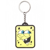 Spongebob Smiling 'Whatever' Rubber Keychain