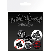 Motorhead Aces Badge Pack