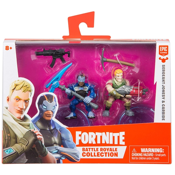 Fortnite Duo Pack - Carbide & Sergeant Jonesy - Image 1