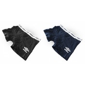Umbro Mens Trunk Boxer Shorts Four Pack (2 Black, 2 Navy) Large