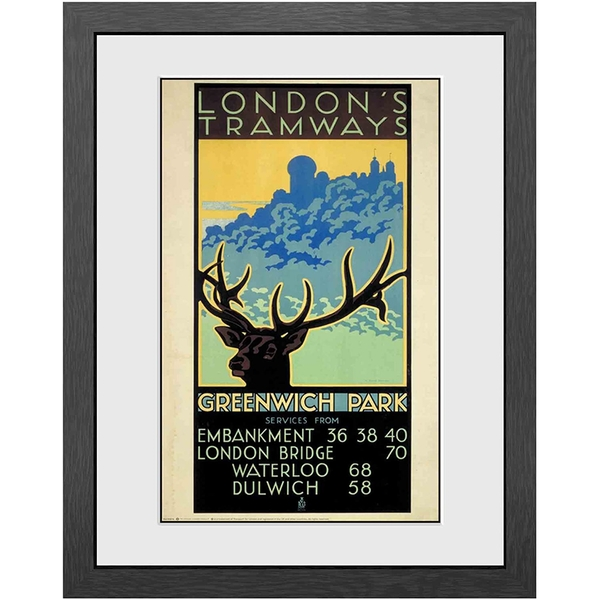 Transport For London Greenwich Park Print