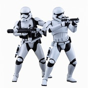 First Order Stormtrooper (Star Wars: The Force Awakens) Hot Toys Twin Pack Figures