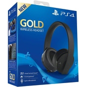 PlayStation 4 Gold Wireless Headset [Black]